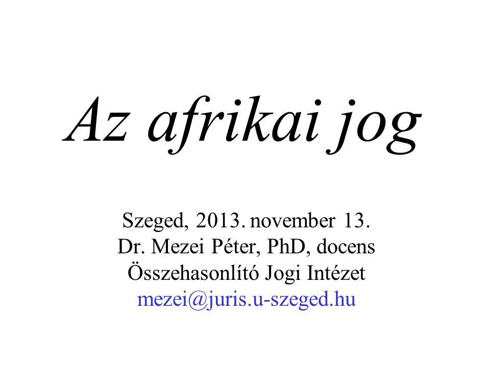 Szeged, 2013.november 13. Dr.