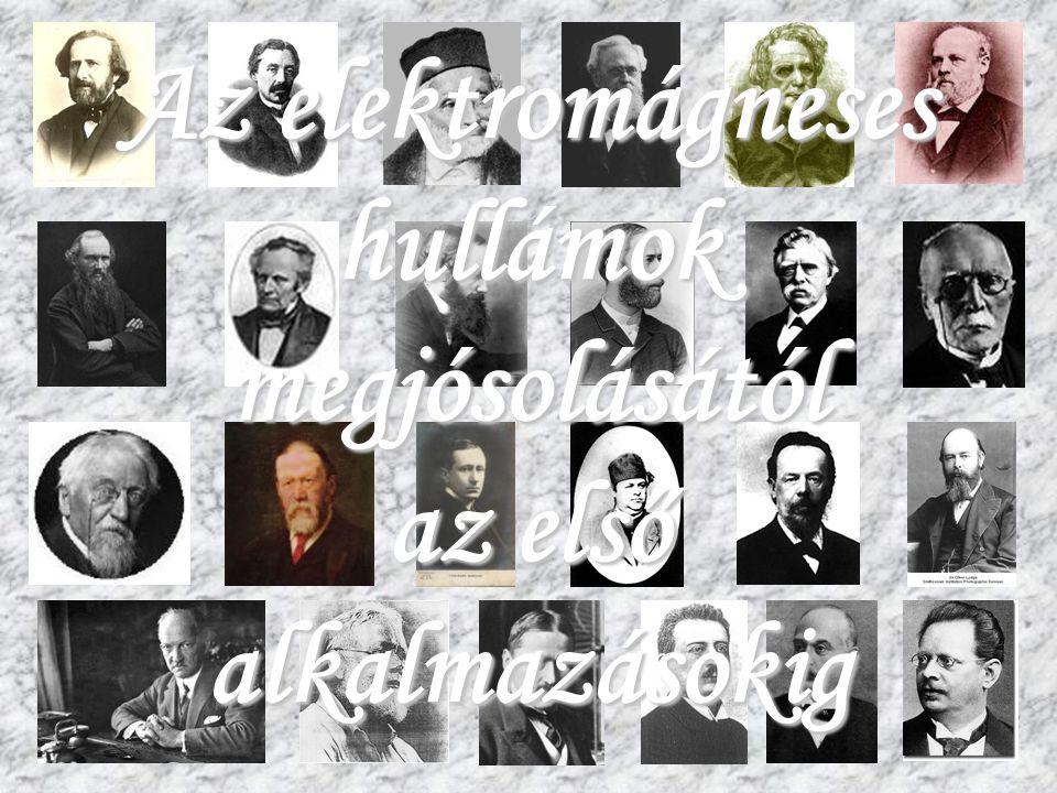 Szeged, 2007.03.16. A skót Maxwell, meg a többiek... 44 Heinrich Rudolf Hertz (német) (1857 – 1894)