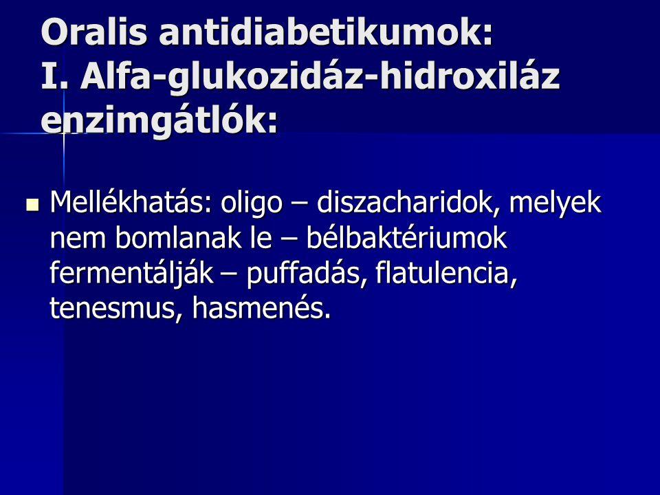 Oralis antidiabetikumok: I.
