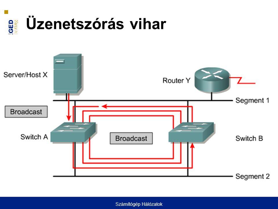 UNIVERSITY OF SZEGED D epartment of Software Engineering UNIVERSITAS SCIENTIARUM SZEGEDIENSIS Üzenetszórás vihar Számítógép Hálózatok