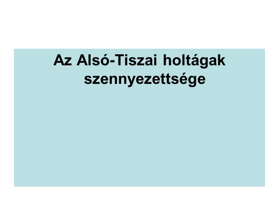 Az Alsó-Tiszai holtágak szennyezettsége