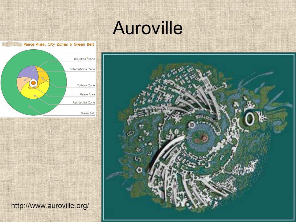 Auroville http://www.auroville.org/
