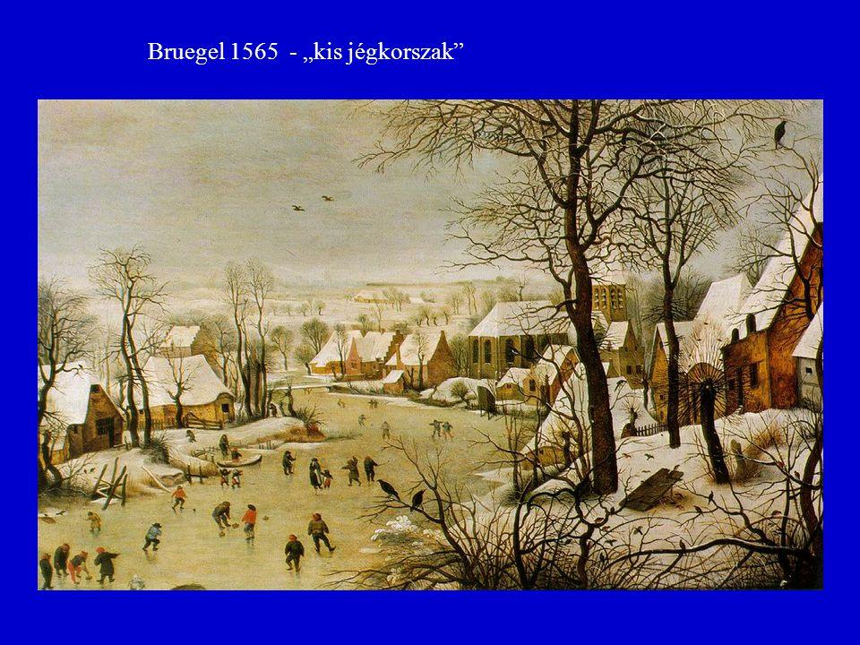 """Bruegel 1565 - """"kis jégkorszak"""