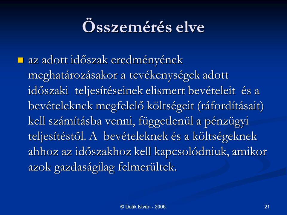 21© Deák István - 2006.