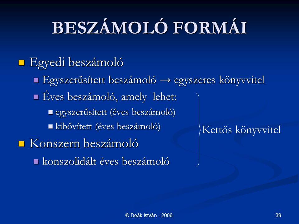 39© Deák István - 2006.
