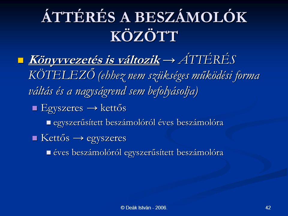 42© Deák István - 2006.