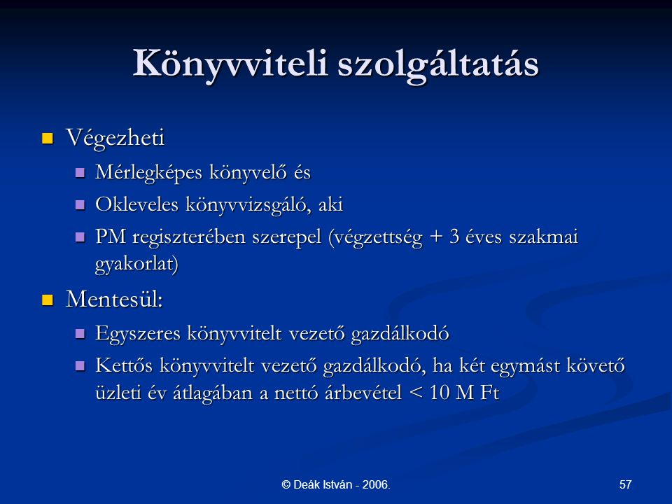 57© Deák István - 2006.
