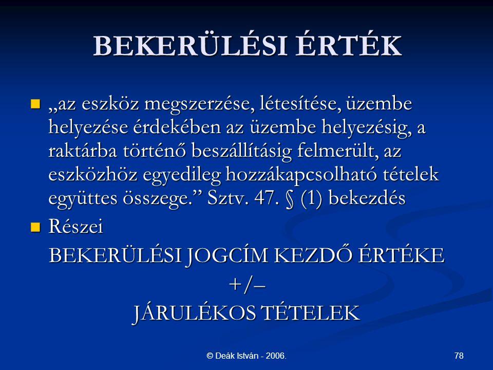 78© Deák István - 2006.