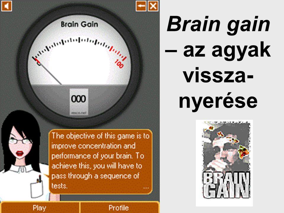 Brain gain – az agyak vissza- nyerése