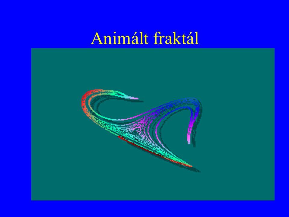 Animált fraktál