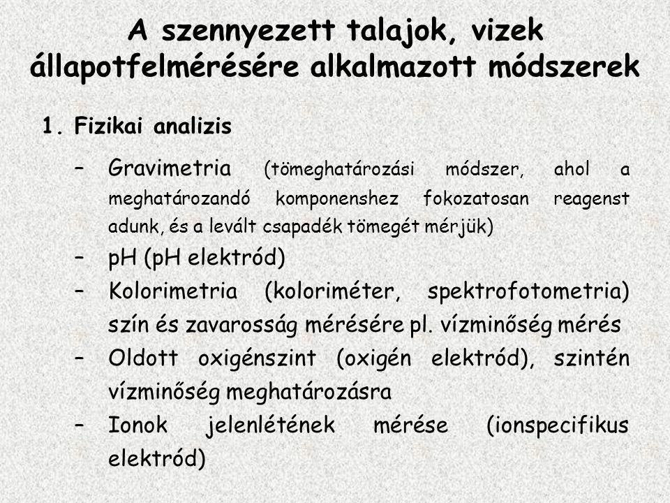 Bioszenzorok A bioszenzor olyan érzékelő (szenzor v.