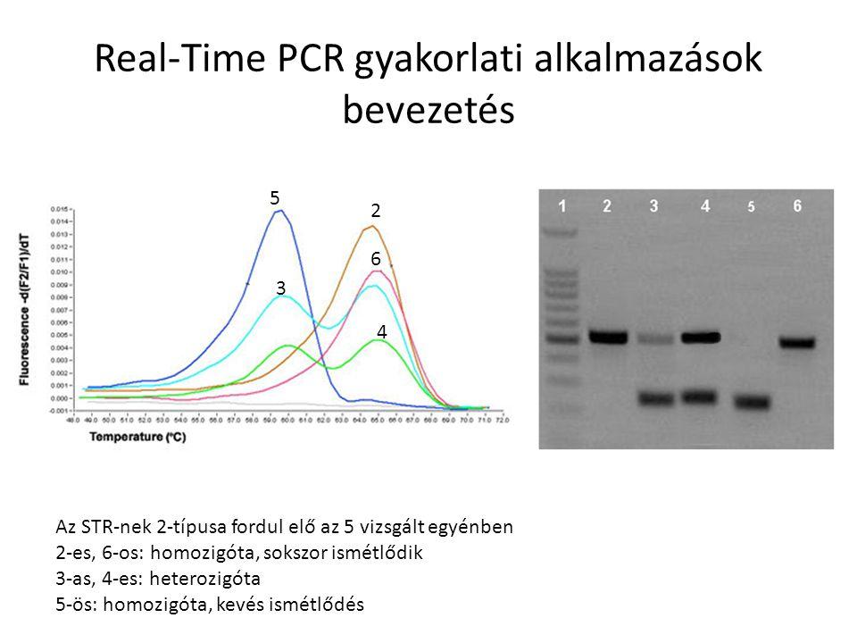 Real-Time PCR gyakorlati alkalmazások II.