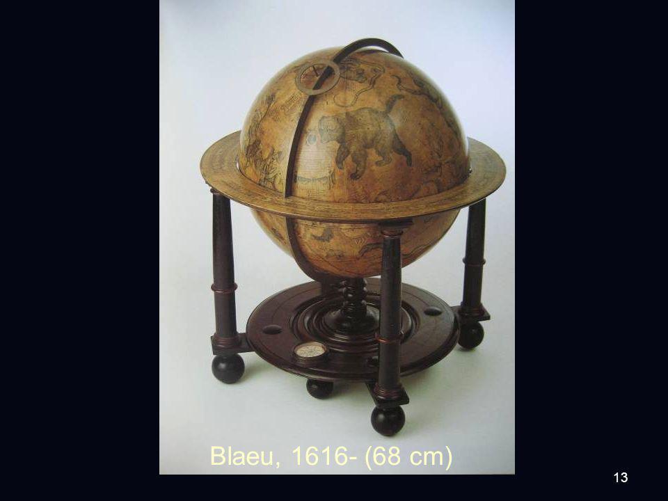 13 Blaeu, 1616- (68 cm)