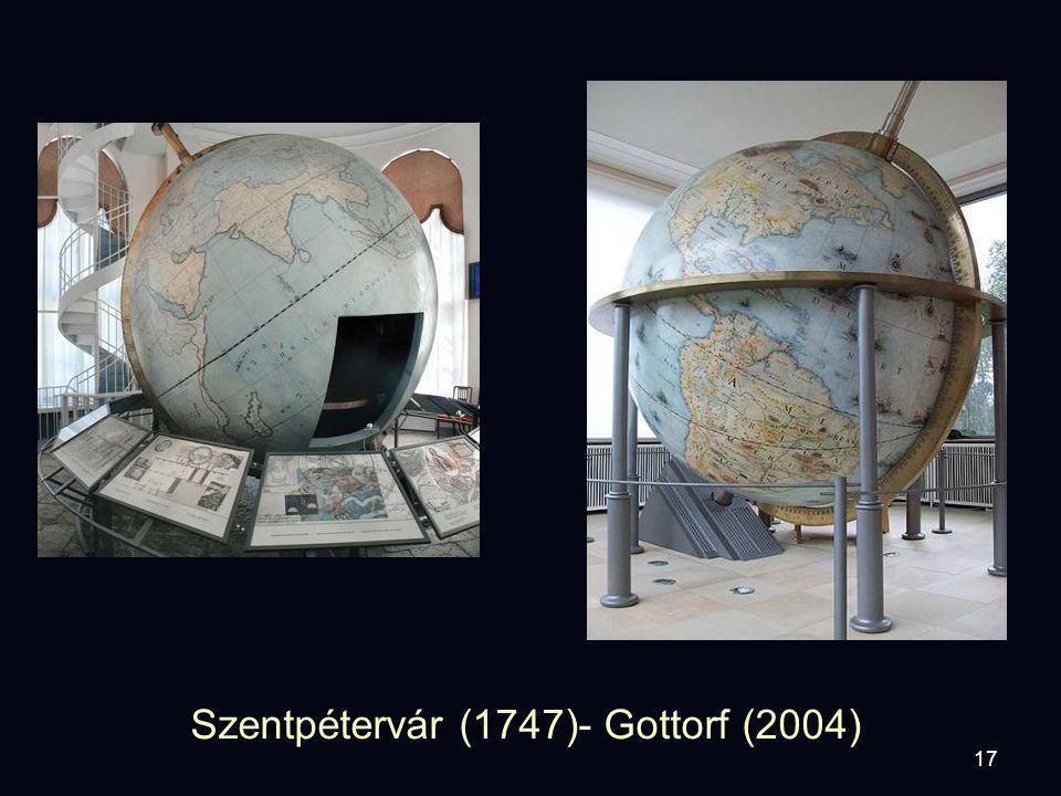 17 Szentpétervár (1747)- Gottorf (2004)