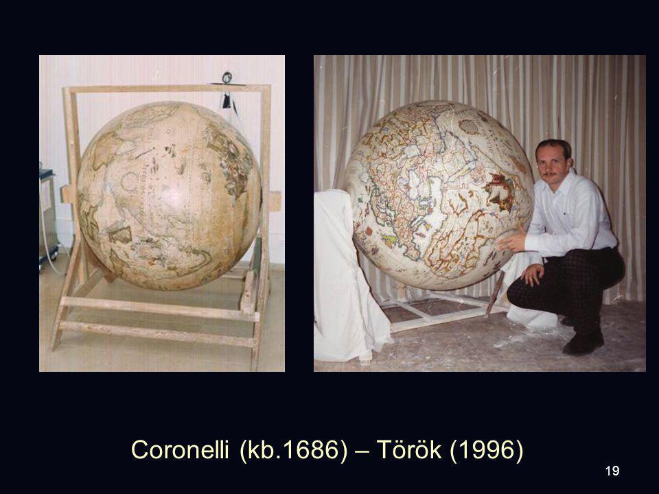 19 Coronelli (kb.1686) – Török (1996)