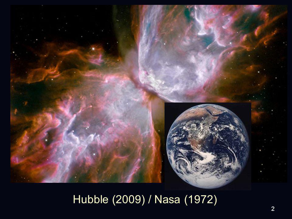 2 Hubble (2009) / Nasa (1972)