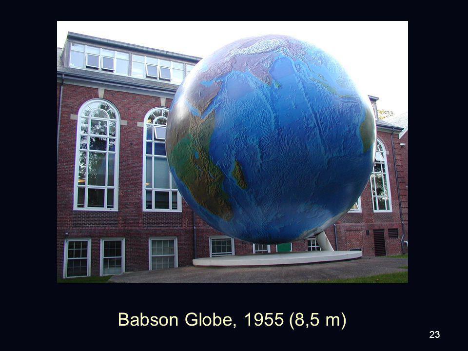 23 Babson Globe, 1955 (8,5 m)
