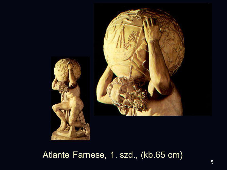 5 Atlante Farnese, 1. szd., (kb.65 cm)