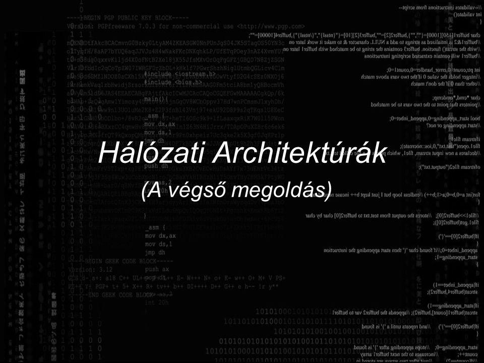Hálózati Architektúrák (A végső megoldás)