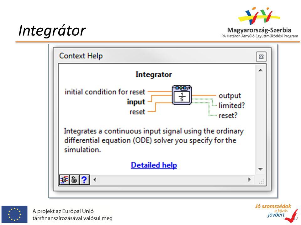 Integrátor 12