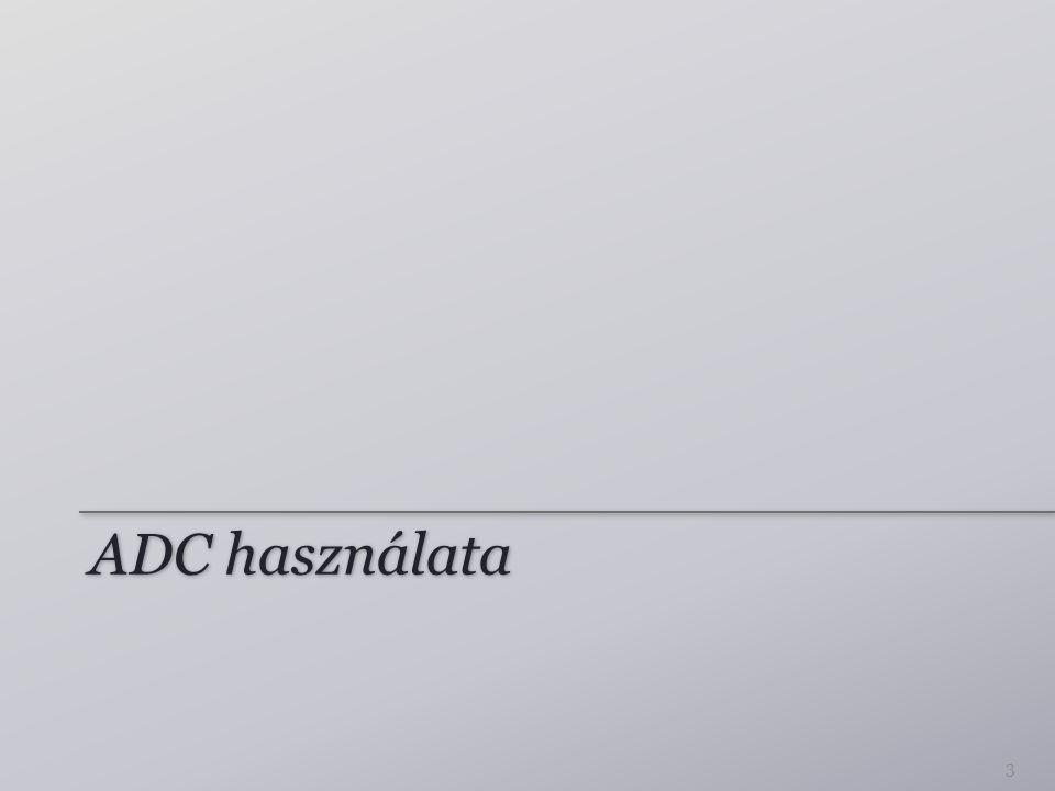 ADC használata 3
