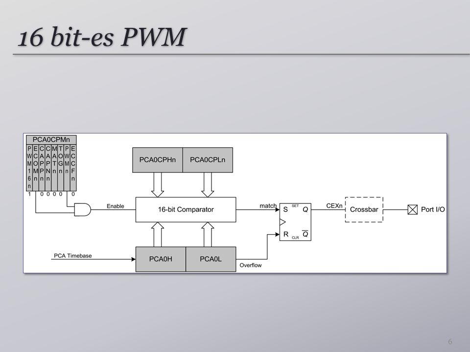 16 bit-es PWM 6