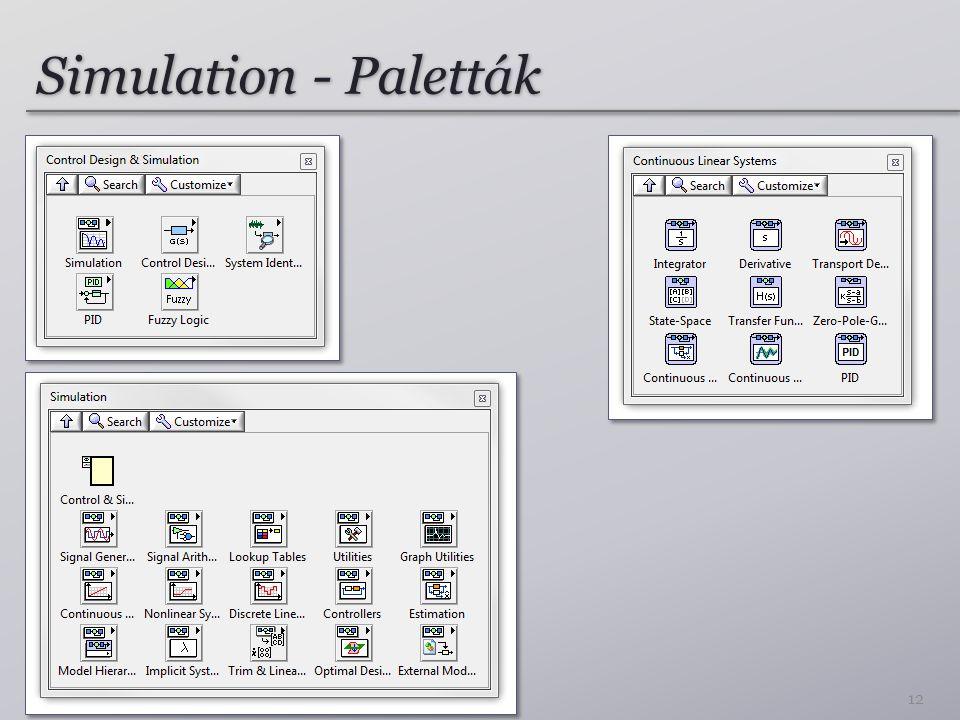 Simulation - Paletták 12