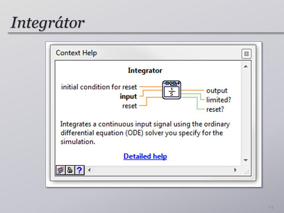 Integrátor 14
