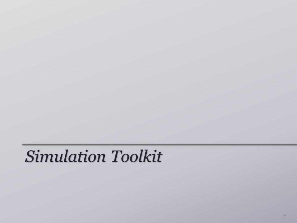Simulation Toolkit 7