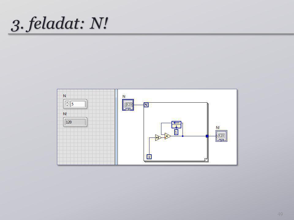 3. feladat: N! 49