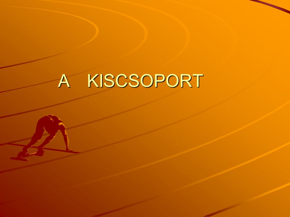 A KISCSOPORT