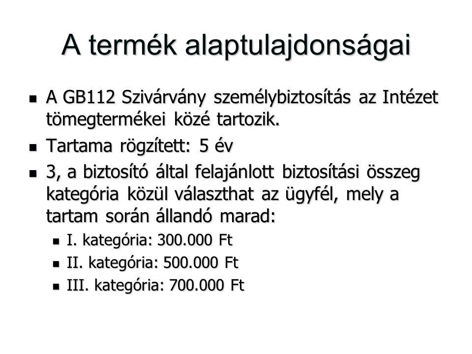 A termék alaptulajdonságai A GB112 Szivárvány személybiztosítás az Intézet tömegtermékei közé tartozik. A GB112 Szivárvány személybiztosítás az Intéze