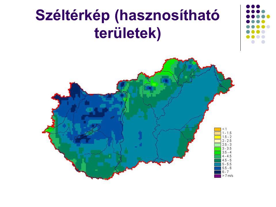 Széltérkép (hasznosítható területek)