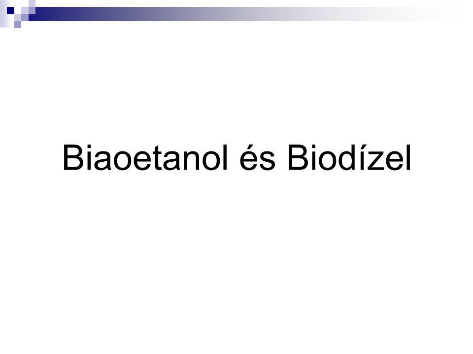 Biaoetanol és Biodízel