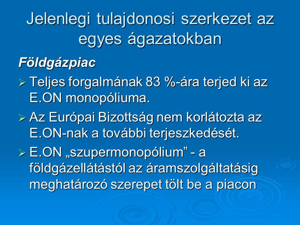 Magyarország energiapolitikája 2008-2020  A célok elérésének eszközei: Politikák közötti összhang (energiapolitika, klímapolitika) Politikák közötti összhang (energiapolitika, klímapolitika) Állami és uniós támogatások Állami és uniós támogatások (Panel Program, ÖKO program) (Panel Program, ÖKO program) Környezet- és energiatudatos szemlélet kialakítására Környezet- és energiatudatos szemlélet kialakítására
