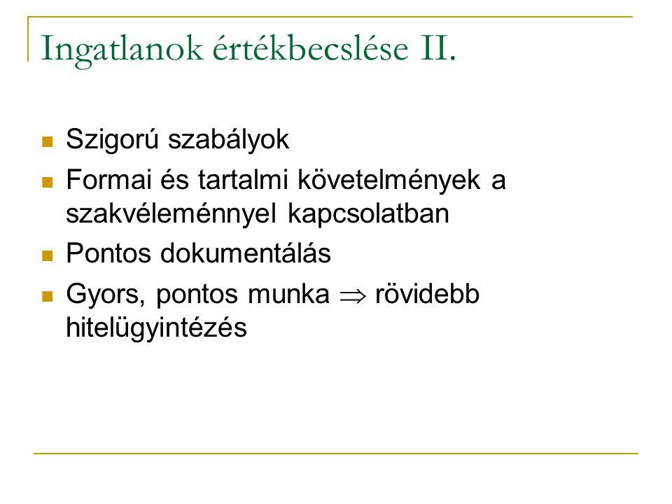 34/35 Ingatlanok értékbecslése II.