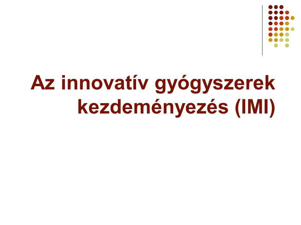 Az innovatív gyógyszerek kezdeményezés (IMI)