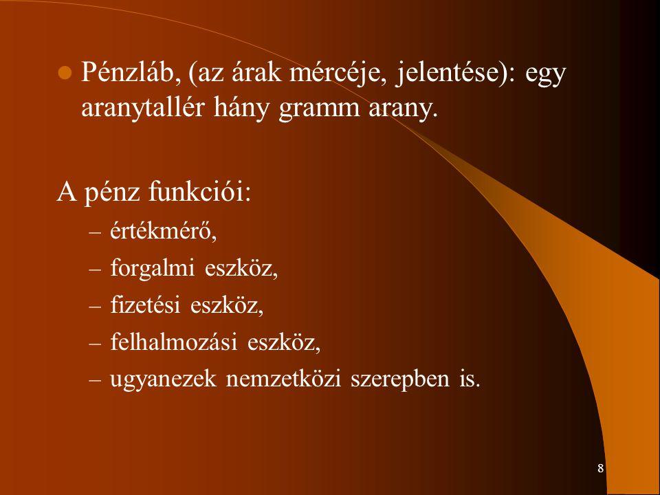 79 Szerződés szól: – az értékpapír nevéről, – mennyiségéről, – megbízás időtartamáról, – árról, – bizományosi díjról.