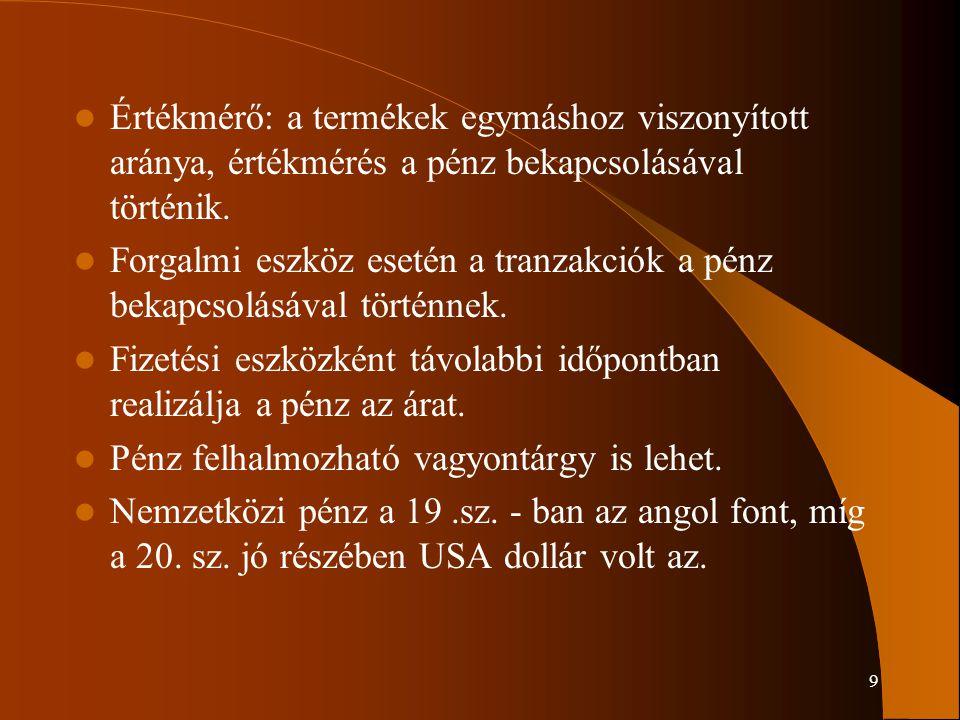 130 11.2 Devizapolitika Devizapolitika a pénzügyi politika része, összehangolja a a belső és külső pénzügyi rendszert, dönt az alkalmazandó árfolyamrendszerről, annak kötöttségeiről, és az árfolyam-politikáról.