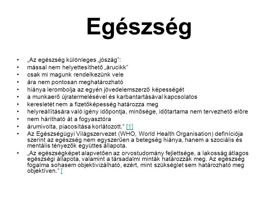 A magyar társadalom egészségi állapotának jellemzői 2.