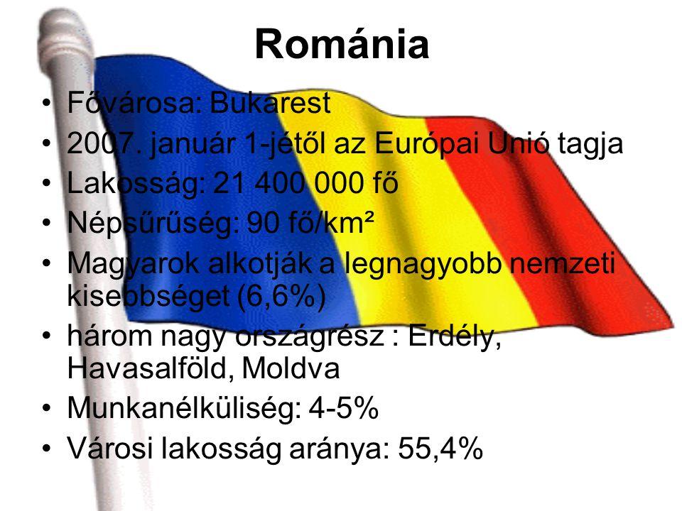 Románia Fővárosa: Bukarest 2007.