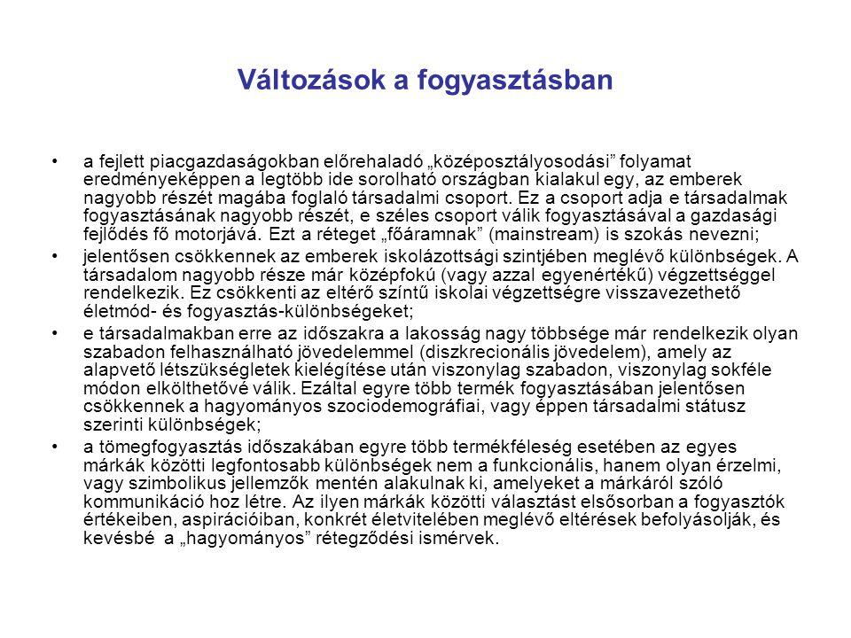 Életstílus kutatások Magyarországon
