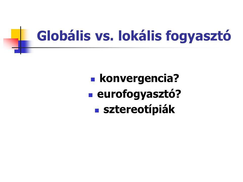 Nemzetközi marketingkörnyezet 5. Kulturális különbségek Kontextus: tág vs. szűk Hofstede (1991) hatalmi távolság bizonytalanságkerülés individualizmus