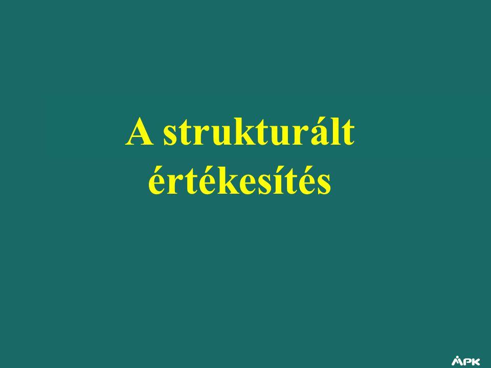A strukturált értékesítés