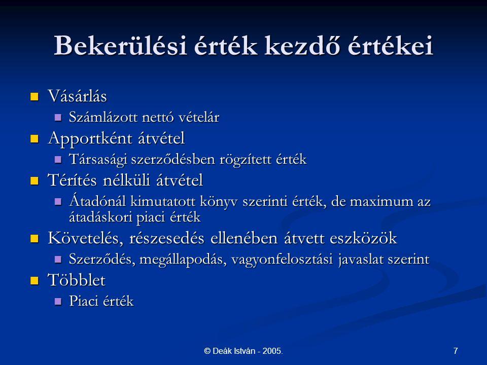 18© Deák István - 2005.