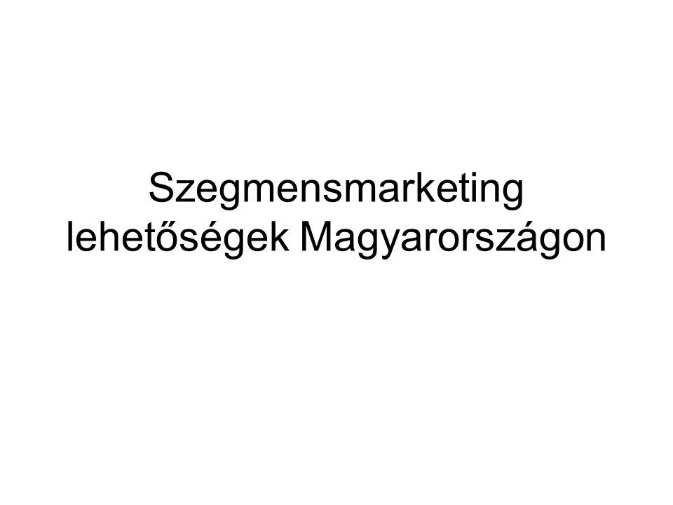 Szegmensmarketing lehetőségek Magyarországon