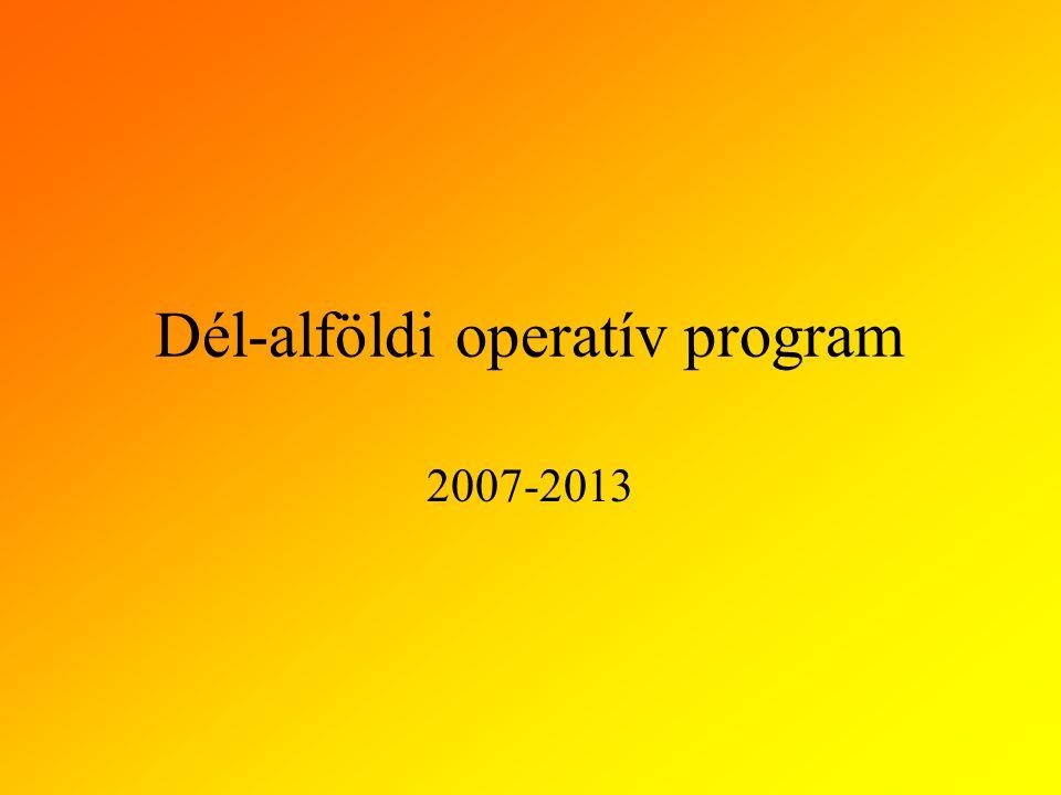 Dél-alföldi operatív program 2007-2013