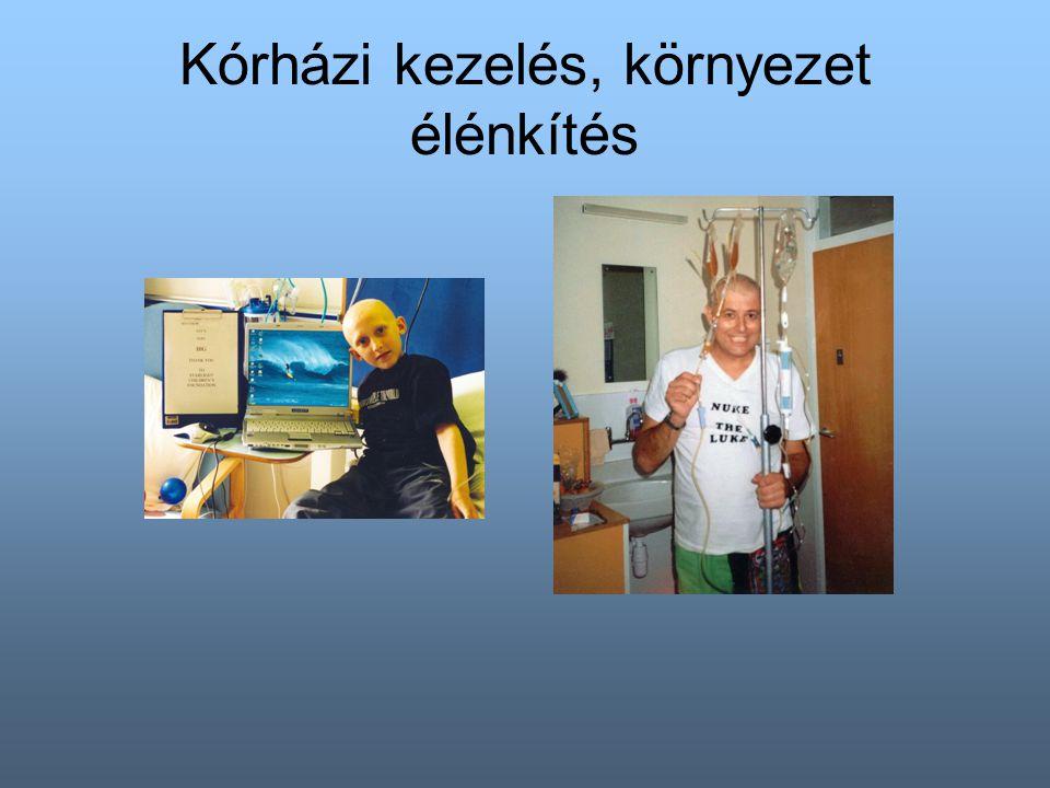 Kórházi kezelés, környezet élénkítés