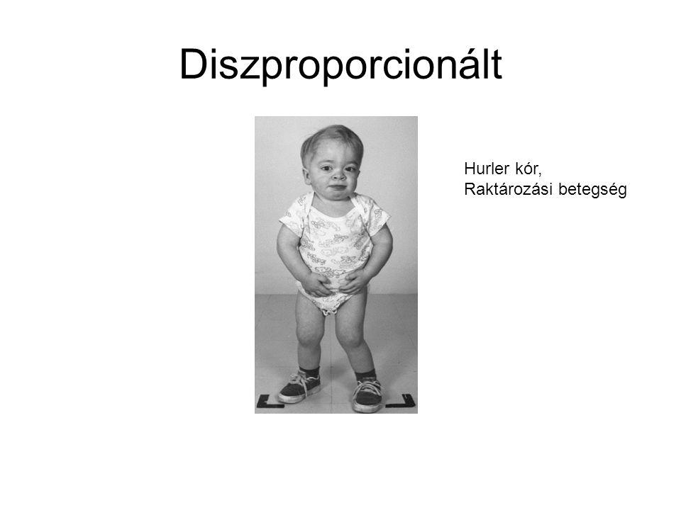 Diszproporcionált Hurler kór, Raktározási betegség