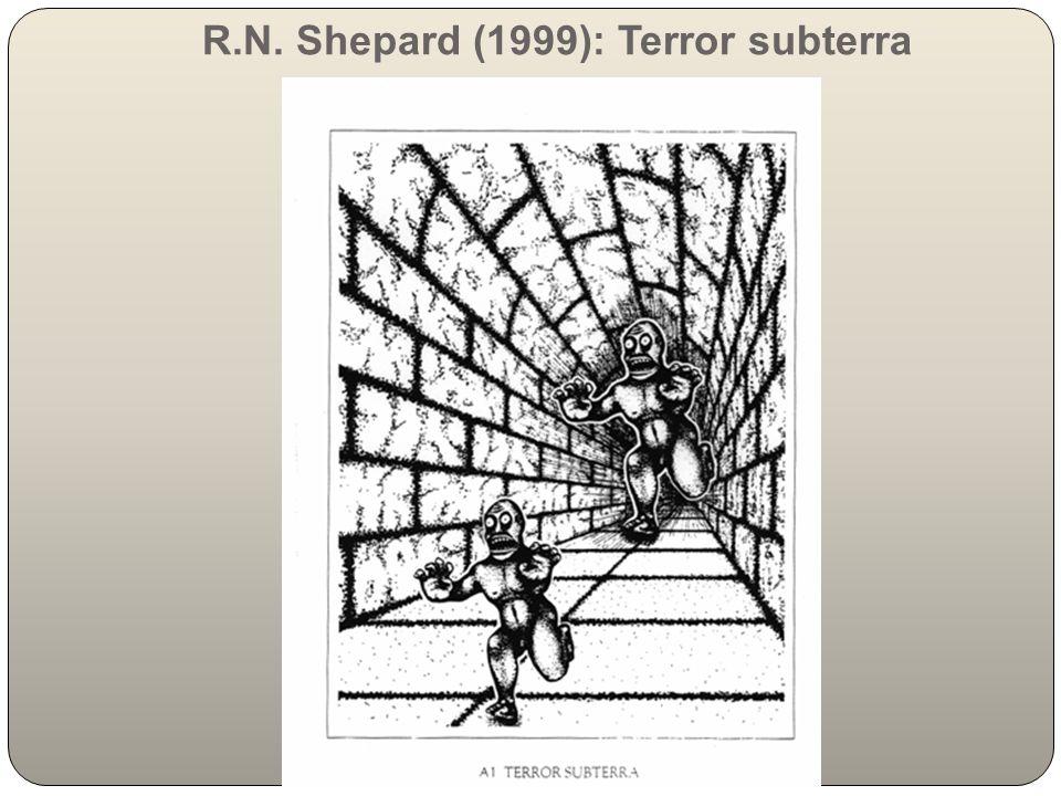 R.N. Shepard (1999): Terror subterra